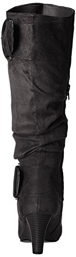 Brinley 05 Slouch Co Women's Calf Boot Regular Melbourne Wide Black amp; rwIraqt