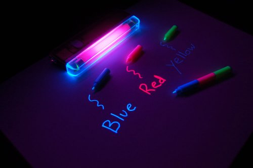 Invisible TriColor Markers Blacklight Combo product image