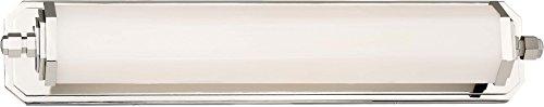 Minka Lavery Wall Light Fixtures 231-613-L Bath Vanity Lighting, 1-Light LED 30 Watts, Polished Nickel ()