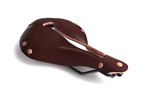 (Selle Anatomica X Series Watershed Oxblood with Copper Rivets)