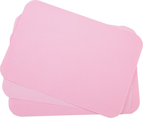 Primo Dental Products TCBDR Tray Cover Ritter, 8.5'' x 12.25'', ''B'' Dusty Rose (Pack of 1000)