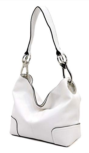 Handbag Bag Shoulder Fashion white Elphis O Purse Bucket Hobo Classic xw7Hn1qtY