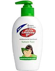 Lifebuoy Nature Pure Anti-Bacterial Hand Wash, 200ml