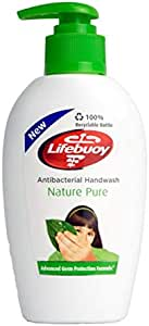 Lifebuoy Nature Pure Anti-Bacterial Hand Wash, 200ml