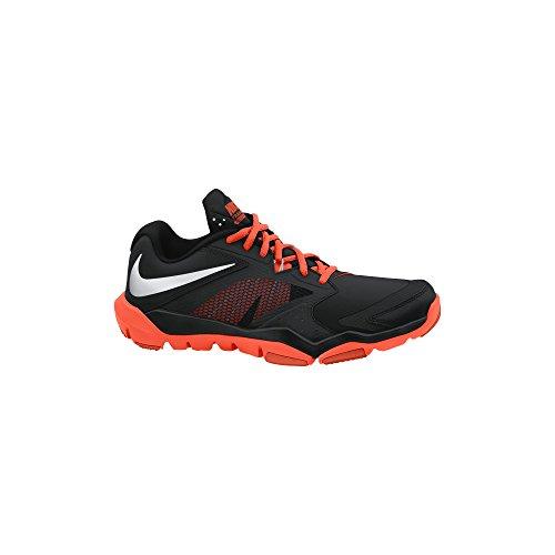 Nike Men's Flex Supreme Tr 3 Black/Metallic Silver/Hypr Crmsn/Tm O Training Shoe 10 Men US