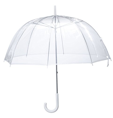 Miles Kimball Clear Dome Umbrella