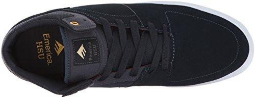 Emerica THE BRANDON WESTGATE - Zapatillas de skateboarding de cuero para hombre Navy