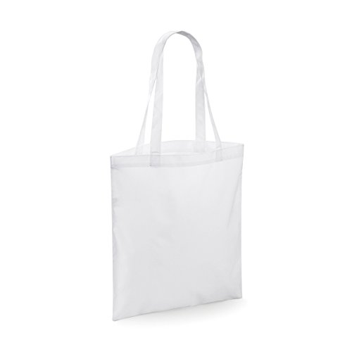 Price comparison product image BagBase Shopper Bag Bag Sublimation shopper 37.5x41.5cm 10L White