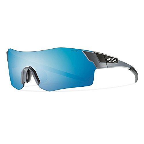 Smith Optics Pivlock Arena Sunglasses Matte Cement/Blue Sol-X, Ignitor from Smith Optics