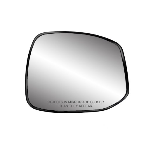 - Fit System 30270 Honda Civic Right Side Heated Power Replacement Mirror Glass with Backing Plate