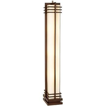 Possini Euro Design Deco Style Column Floor Lamp Tiffany Style