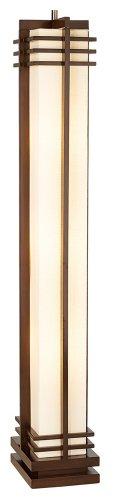Floor Lamp Asian (Possini Euro Design Deco Style Column Floor Lamp)