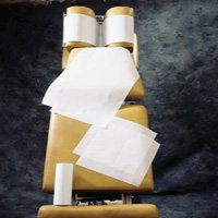 "Price comparison product image BodyMed Headrest Paper Rolls,  White Economy,  Smooth Texture,  8.5"" x 225',  25 Rolls"