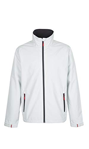 Crew Jacket Track (Gill GILL-1041SXL Men's Team Crew Sport Jacket, Silver, X-Large)