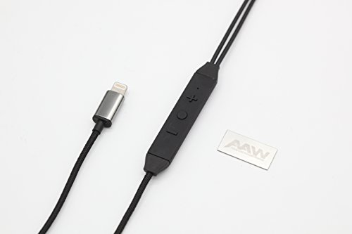 AAW CAPRI MMCX DAC Installed Hi-Res AUDIO BALANCED LIGHTNING EARPHONE CABLE【Japan Domestic genuine products】
