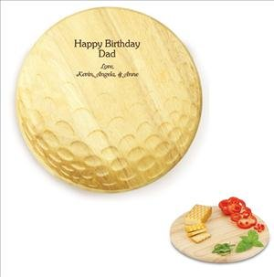 ANEDesigns Laser Engraved Golf Ball Shaped Cutting ()