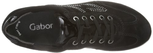 S Women's Low Top Gabor Black Kayden Trainers q5v4wtxES