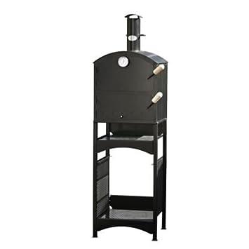 Al aire libre de leña de horno - hornea, fuma, asados y ...