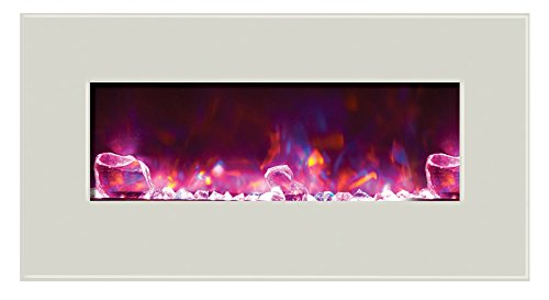 Cheap Amantii WM-BI-34-4423-WHTGLS Electric Fireplace Black Friday & Cyber Monday 2019
