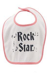 Amazon.com: Rock n Roll babero de bebé, color rojo: Baby