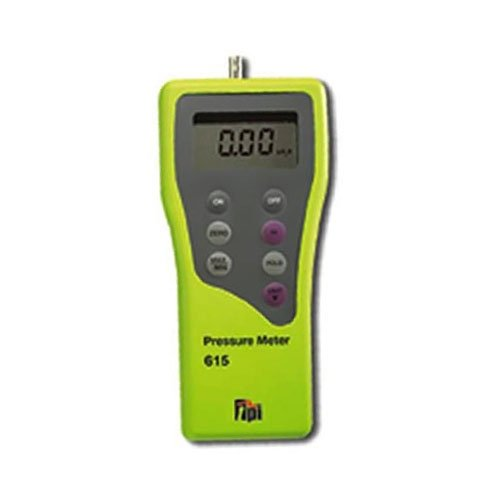 7 Selectable Units of Measure Cole-Parmer TPI 615 Digital Manometer 15//48in.H2O Single Input