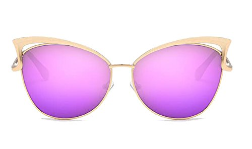 Personalidad Conducción A Gafas Estilista Viajar Sol De Gafas Protección Gafas F Vacaciones Retro De UV400 Dama Sol Moda aqFwPpIq