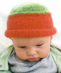 Lady Bug Felted Hat Pattern (Felted Knitting Hats)