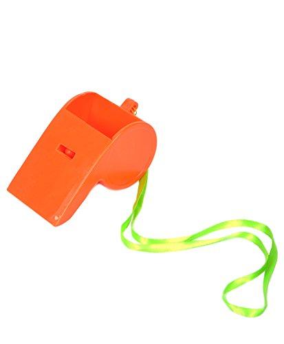 The Fun Times Galore Party Whistles (Orange)