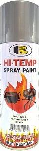 BOSNY Hi-Heat Resistant 1200°F Aerosol Spray Paint (Silver, 400 ml) product image
