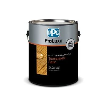 Ppg Proluxe Log And Siding Wood Finish 1 Gallon 077