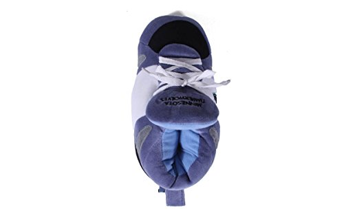 Happy Minnesota Feet LICENSED OFFICIALLY Comfy Timberwolves and Feet Sneaker Slippers Womens and Mens NBA Hx55fw7
