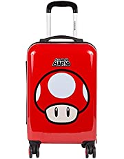 Maleta 20 Pulgadas Rojo Chenson Mario Bros Colección Carha