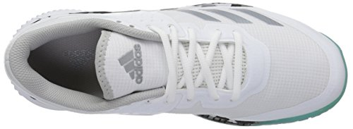 adidas Performance Women's Crazyflight Bounce W Volleyball-Shoes White/Night Metallic/Grey Two EYo1NnJ3gu