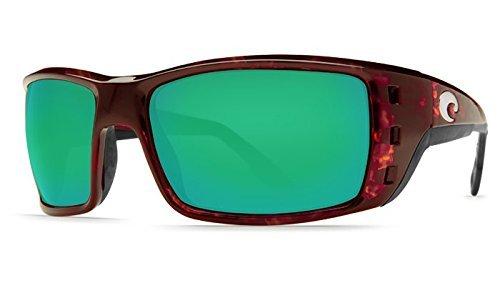 New Costa Del Mar Permit 580G Tortoise/Green Mirror Polarized Lens 59mm ()
