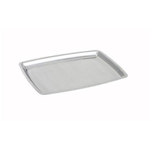 Platter Steel Stainless Sizzling (Winco SIZ-11B, 11-Inch Oblong Sizzling Platter, Stainless Steel Serving Dish, Rectangular Serving Tray)