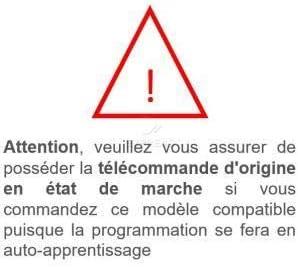 TUBAUTO HSM4 868 MARANTEC D304-868 WHY EVO T/él/écommande Copieuse 280 /à 868Mhz /à code fixe copie LES T/ÉL/ÉCOMMANDES H/ÖRMANN HSM4 868 TUBAUTO HS2 868/… H/ÖRMANN HSE2 868 MARANTEC D302-868 les t/&ea