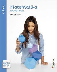 Read Online MATEMATIKA ACADEMICA 3 DBH ZUBIA pdf epub