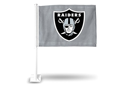 Rico Industries NFL Oakland Raiders Car Flag