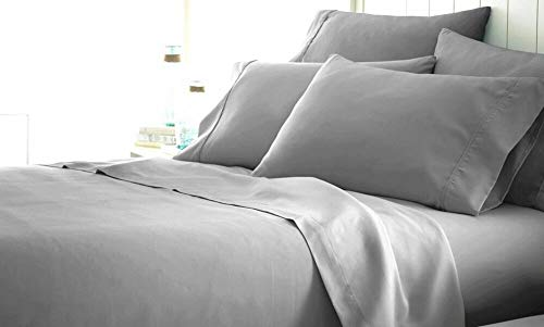 Mandarin Hotel Collection Presents Authentic Heavy Quality 4-Piece Sheet Set Luxurious Egyptian Cotton 1500 Thread Count, Fits 12-16