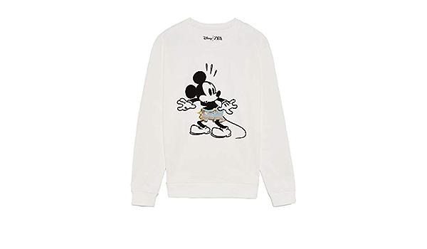 Zara 1259/309/250 - Sudadera para Hombre, diseño de Mickey ...
