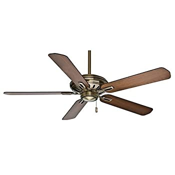 Casablanca Fans 59535 Holliston - 54 Inch. 60 Inch. Ceiling Fan, Antique Brass Finish by Casablanca Fans