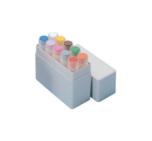 Nunc HIPS MiniBoxes for CryoTubes, Can hold 10 vial, 1.0ml - 1.8ml Capacity (Case of 200) by Nalgene