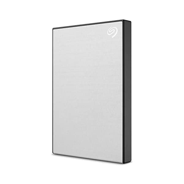 Seagate Backup Plus Slim 2 TB External Hard Drive Portable HDD Silver USB 3.0 For PC Laptop and Mac, 1 Year Mylio Create…