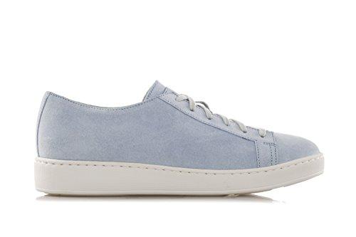 Sneakers Da Donna Santoni In Suede Azzurro