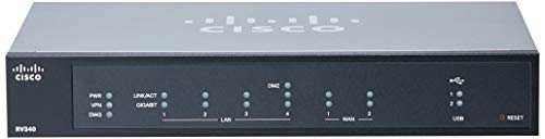Cisco RV340-K9-NA Dual WAN Gigabit Router Cisco Small Business Firewall