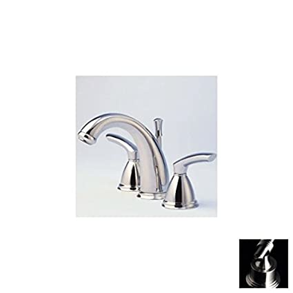 Santec Faucets 4120BL75 Santec Widespread Lavatory Satin Nickel ...