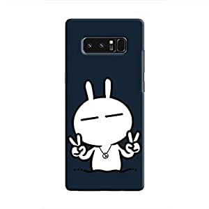 Cover It Up - Peace Tsuki Galaxy Note 8 Hard Case