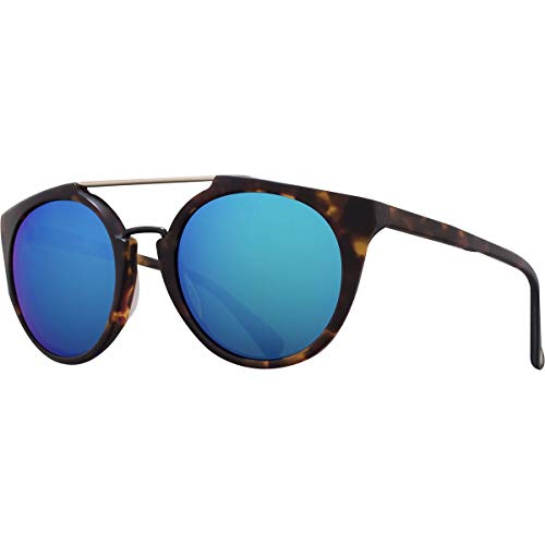 Vuarnet Round Cable Car VL 1602 0008 1126 Rag & Bone Sunglasses Havana Blue Mirror Glass
