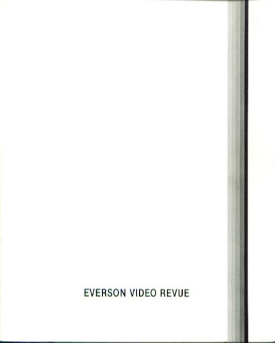 Everson Video Review exhibition catalog 1979