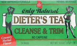 ONLY NATURAL CLEANSING DIET TEA,HERB 24 BAG 1-EA